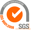ISO 9001 : 2008 accredited
